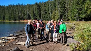 Group Photo 2 at Lower Twin Lake