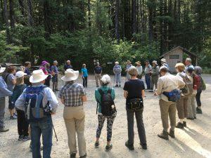 Circle of Hikers