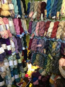 Yarn in Serendipity Shop