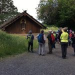 Some Hikers at Plankhouse
