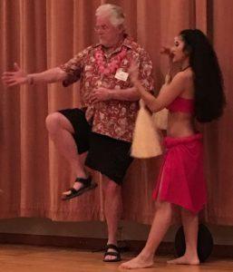 Bill K Hula Dancing