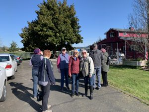 Group Visiting Alpaca Farm