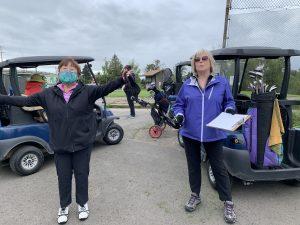 Golfing at Broadmoor during social distancing